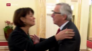 Video «FOKUS: Neue Annäherungen zwischen der Schweiz und der EU» abspielen