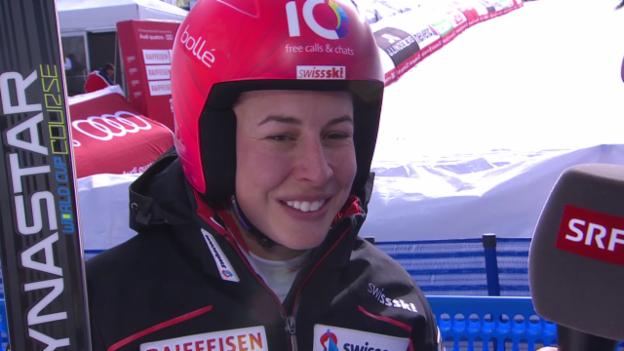 Video «Ski-WM, Vail/Beaver Creek, RS, Inti von Gisin» abspielen