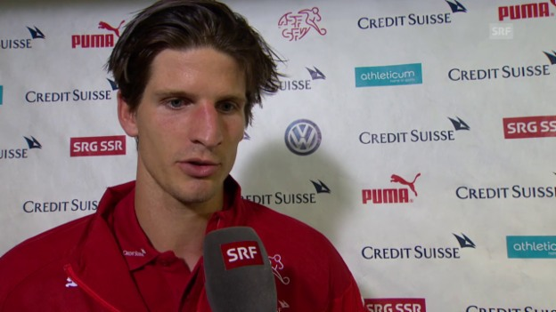 Video «Fussball: EM-Quali, Interview Timm Klose» abspielen