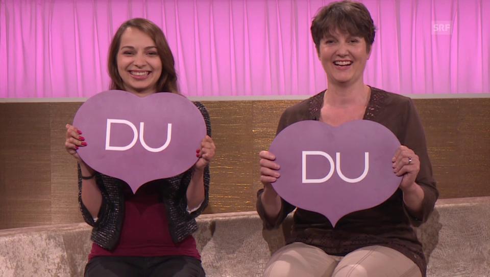 Andrea Berger und Susanne Tanner bei «Ich oder Du»