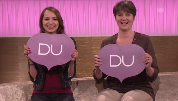 Video «Andrea Berger und Susanne Tanner bei «Ich oder Du»» abspielen