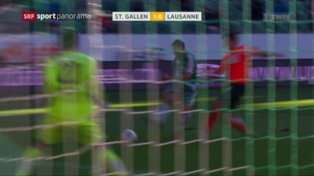 Video «St. Galler Aufwärtstrend hält an» abspielen