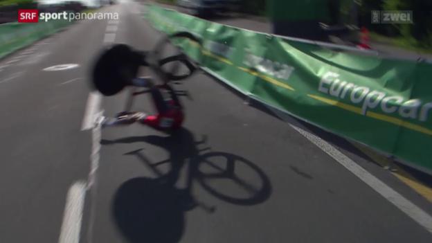 Video «Rad: Tour de Suisse, die besten Bilder» abspielen