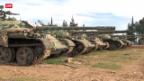 Video «Rebellen erobern Armee-Stützpunkt» abspielen