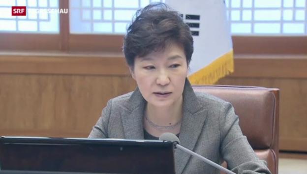 Video «Präsidentin kritisiert «Sewol»-Crew» abspielen