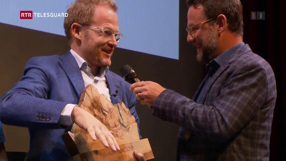 Reto Schmid survegn il Prix Montagne per «La Conditoria»