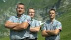 Video «Schwingerkönige posieren für die Kamera» abspielen