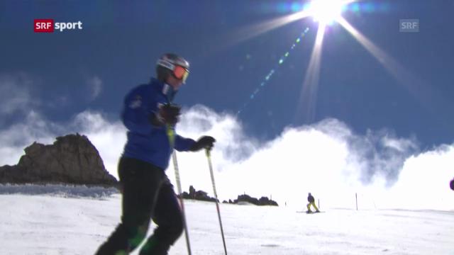 Beat Feuz trainiert wieder auf Schnee («sportaktuell»)