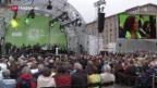 Video «Fronleichnam-Feierlichkeiten in Deutschland» abspielen