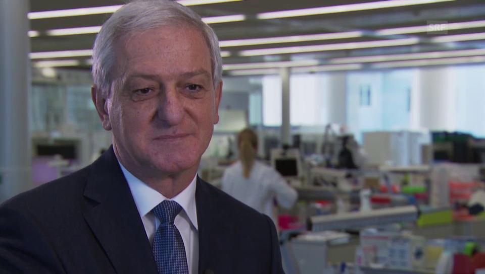 Interview mit Novartis-Präsident Jörg Reinhardt