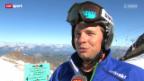 Video «Ski alpin: Beat Feuz trainiert wieder auf Schnee» abspielen