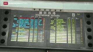 Video «Malaysisches Flugzeug verschwunden – Absturz wahrscheinlich» abspielen