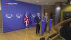 Video «Erneut Brexit-Verhandlungen in Brüssel» abspielen