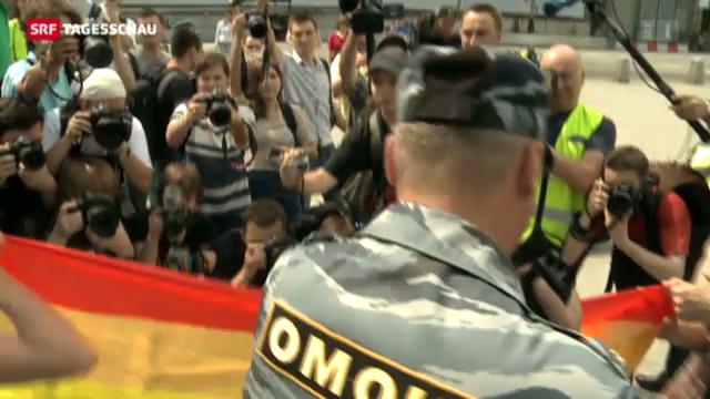 Schwerer Stand für Homosexuelle in Russland