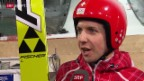 Video «Skispringen: Der 1. Trainingstag» abspielen