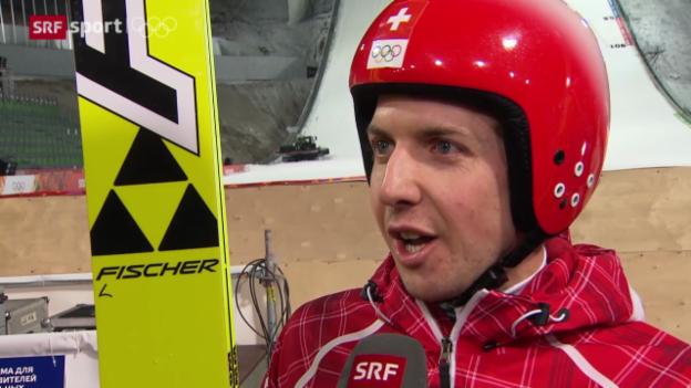Video «Skispringen: Der 1. Trainingstag» abspielen