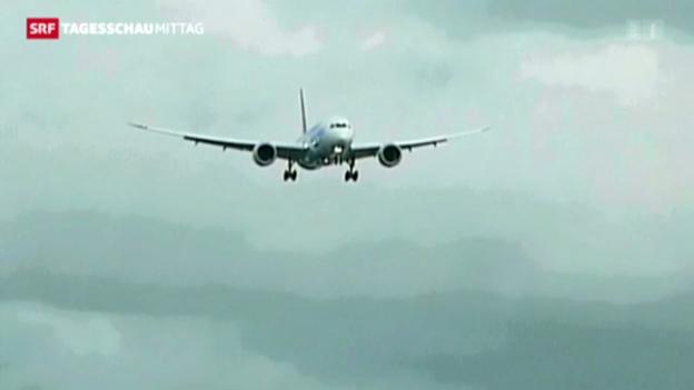 Video «Dreamliner darf zu Testflügen abheben» abspielen