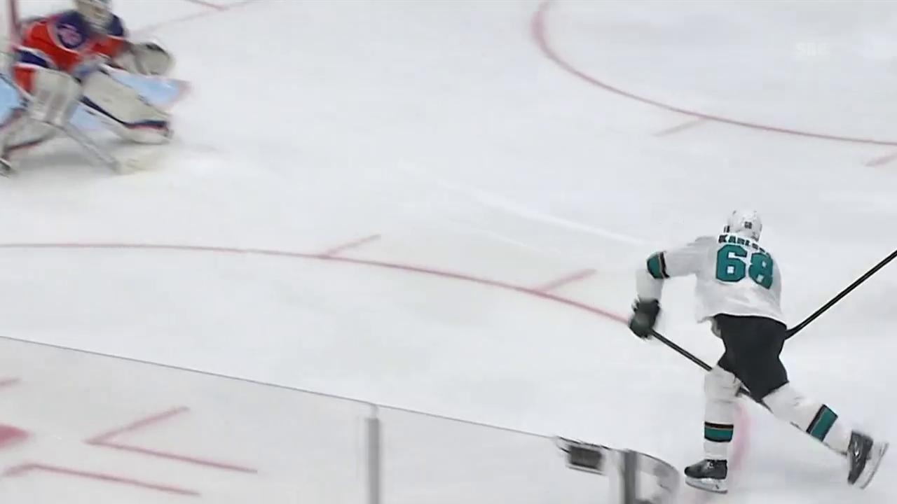 Der Siegtreffer von Karlsson