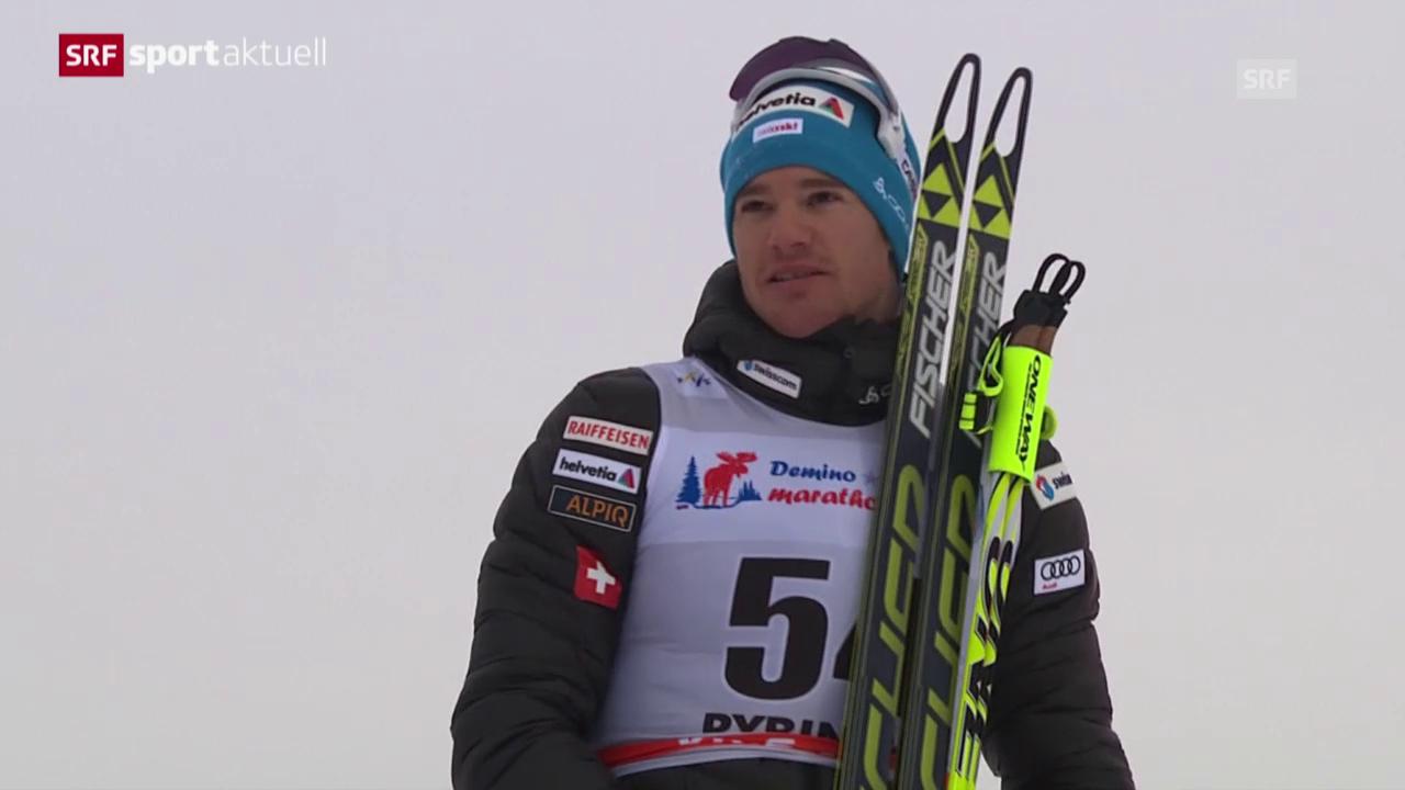 Langlauf: Dario Cologna triumphiert in Rybinsk («sportaktuell»)