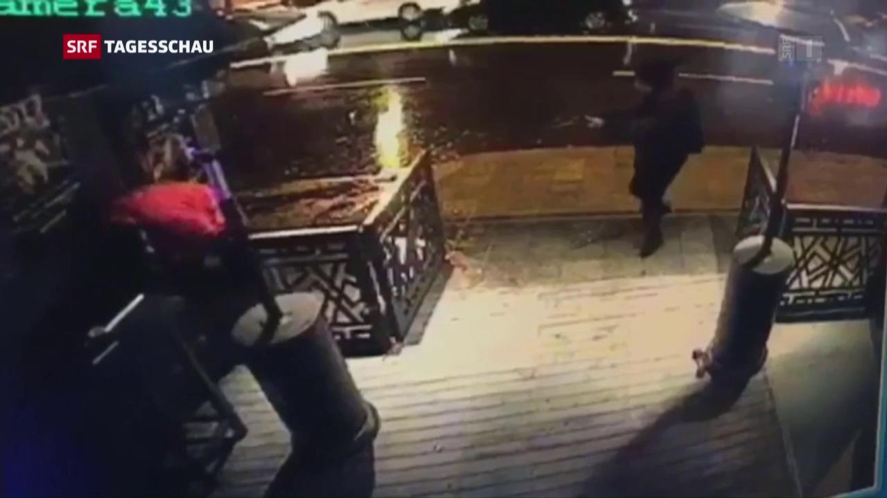 Video zeigt angeblichen Attentäter