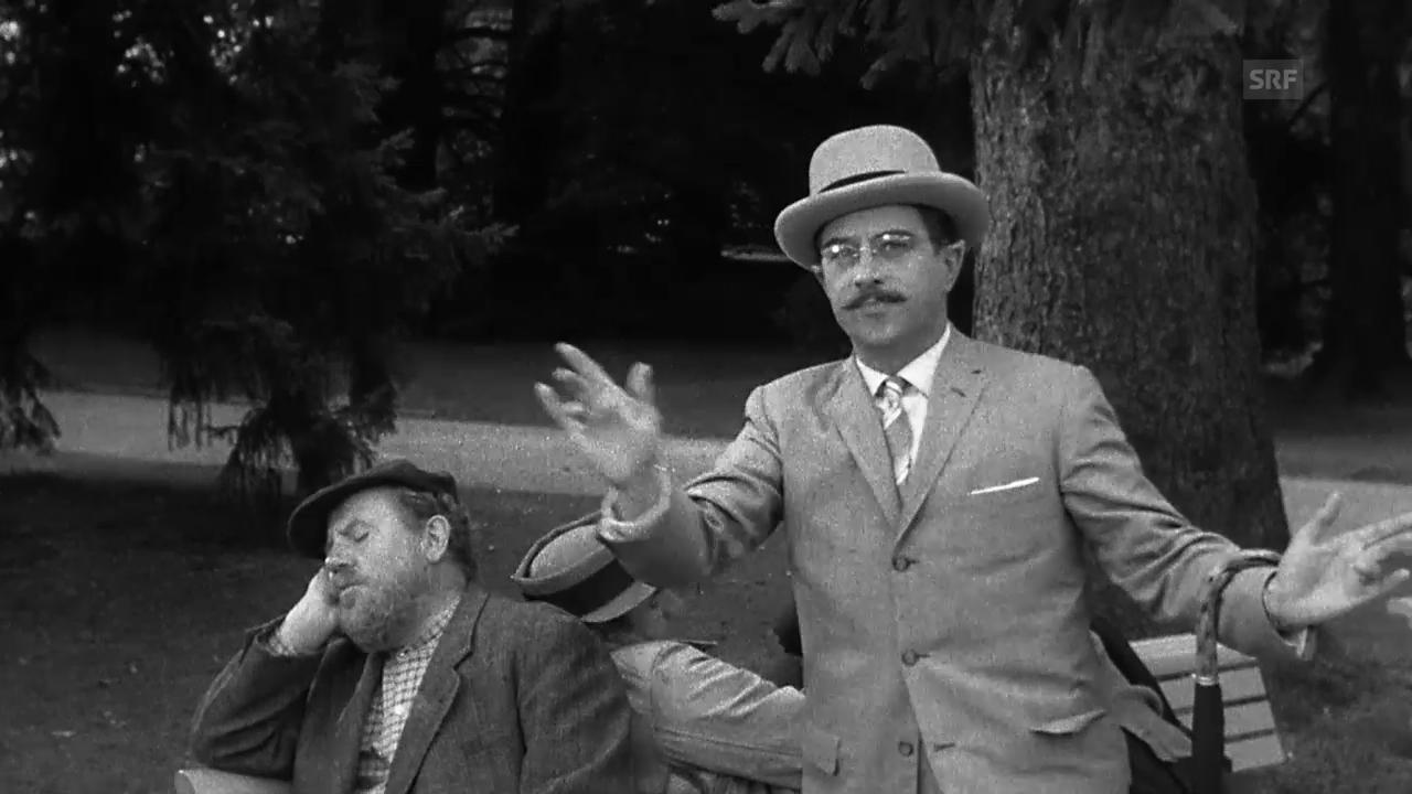 «Der Teufel hat gut lachen», 1960 (Filmausschnitt)
