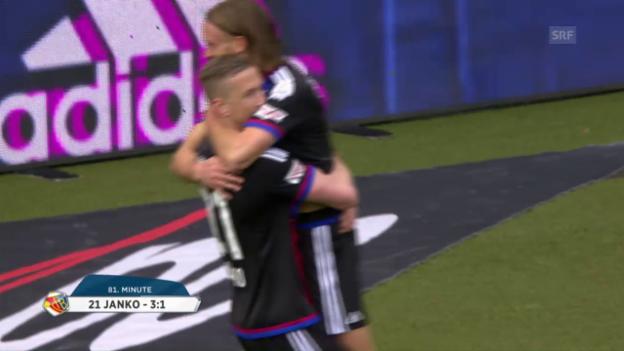 Video «Sicherer Sieg für den FC Basel» abspielen