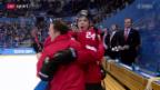 Video «Teil 3: Der Start der Schweizer Eishockeyaner ins Olympia-Turnier» abspielen