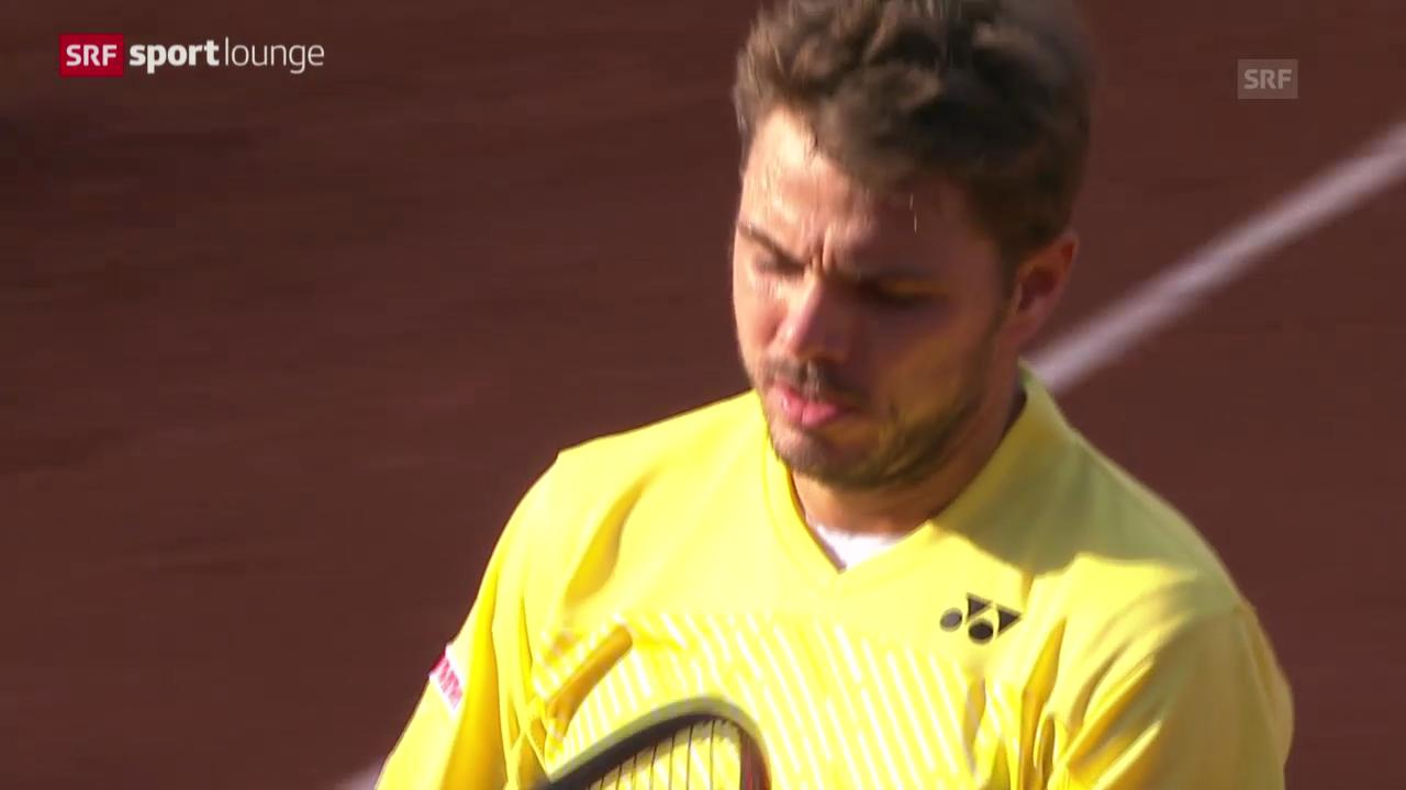 French Open: Wawrinka scheitert in Runde 1 («sportlounge» vom 26.5.2014)