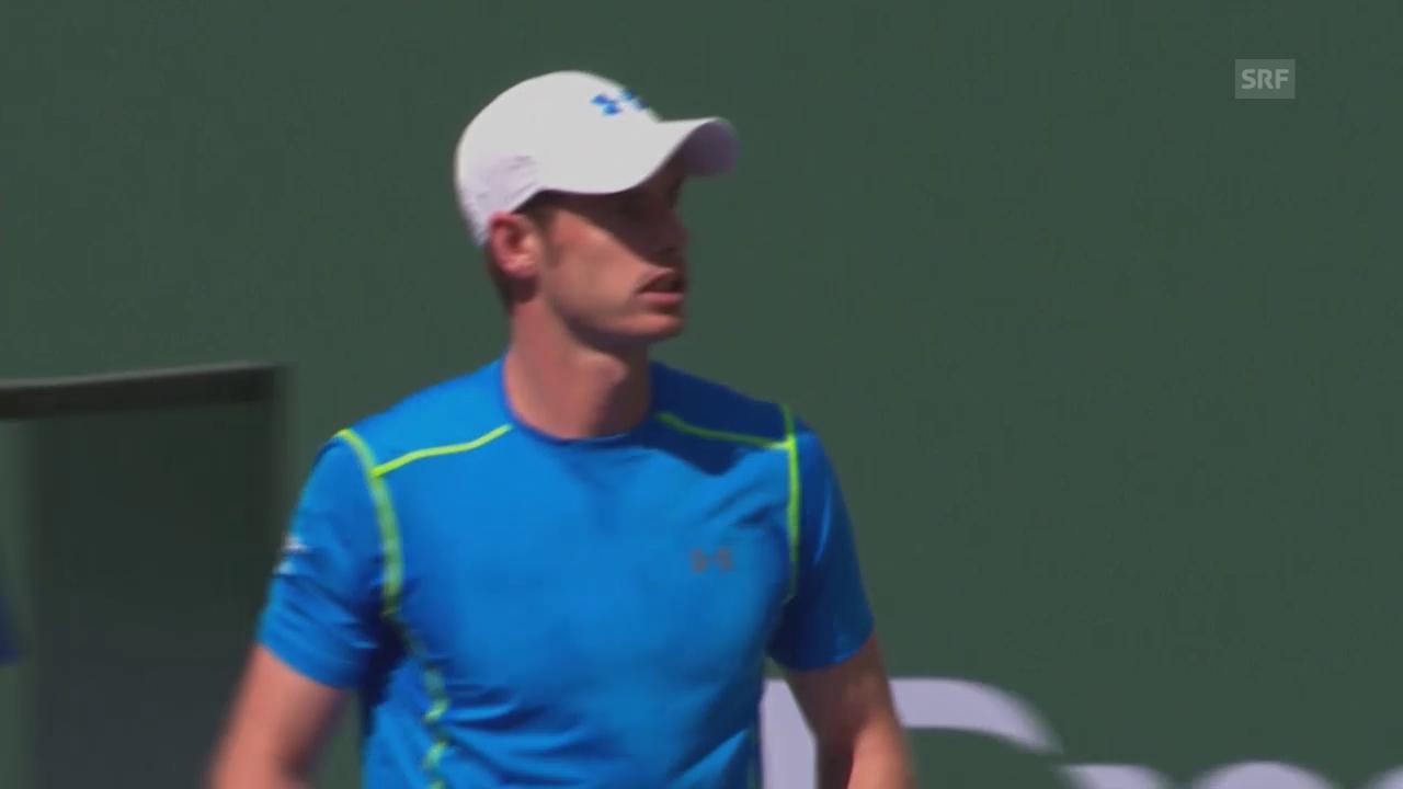 Tennis: ATP Indian Wells, Murray-Kohlschreiber