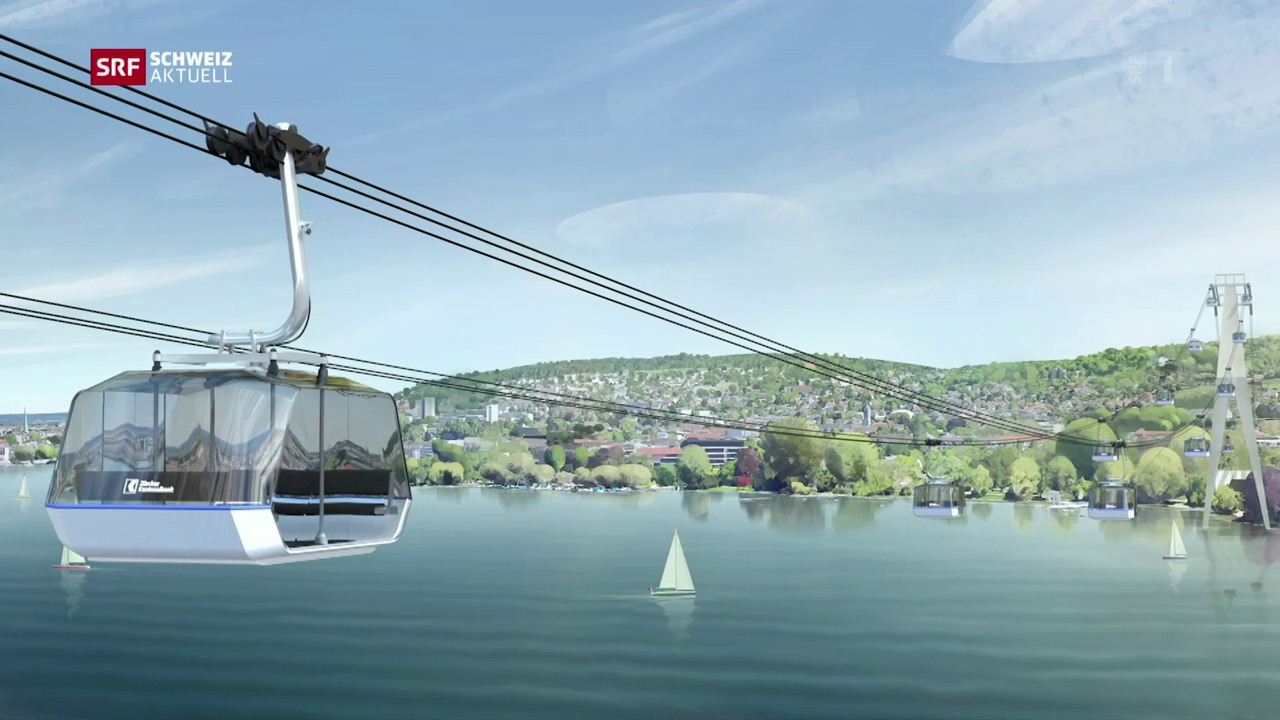Zürichsee-Seilbahn feiert Comeback