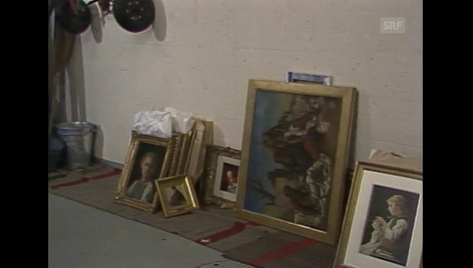 Porträt zum 75. Todestag von Albert Anker in der Sendung «DRS aktuell» vom 22. März 1985
