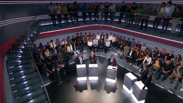 Video «Abstimmungs-Arena: Initiative AHV Plus» abspielen