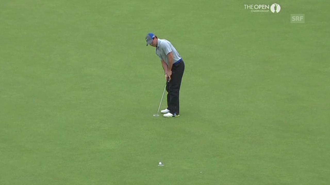 Golf: Szenen aus Rory McIlroy 3. Runde am British Open (Quelle: SNTV)