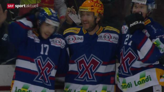 Video «Eishockey: NLA, Ambri - Lausanne» abspielen