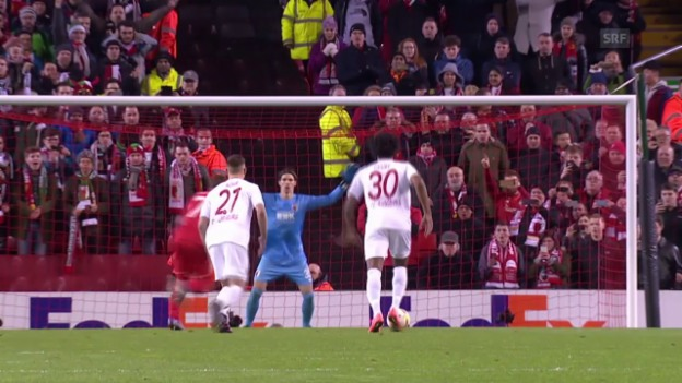 Video «Liverpool - Augsburg» abspielen