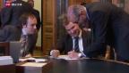 Video «Lohnkürzung für Politiker: Brunners Idee stösst auf Widerstand» abspielen