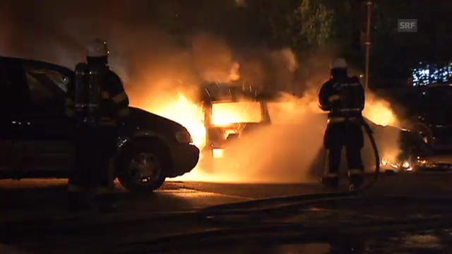 Stockholm brennt