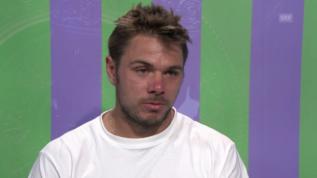 Video «Tennis: Wimbledon, Interview mit Stan Wawrinka (franz.)» abspielen