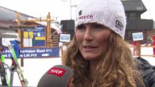 Video «Ski alpin: WM in Vail/Beaver Creek, Sarah Schleper über den Start für Mexiko» abspielen