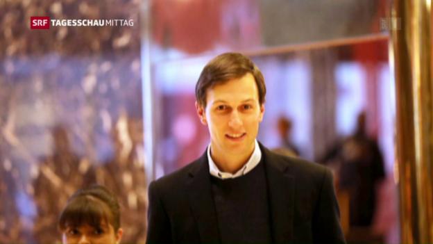 Video «Job für Trumps Schwiegersohn im weissen Haus» abspielen