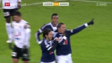 Video «Fussball: Super League, Luzern - Aarau» abspielen