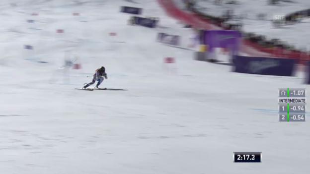 Video «Ski: Der 2. Lauf von Lara Gut («sportlive»)» abspielen