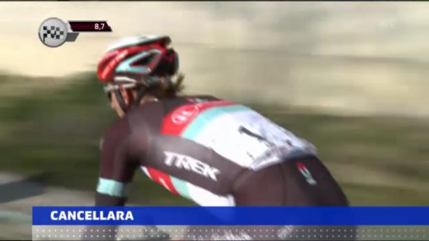 Video «Cancellara bei Strade Bianche geschlagen («sportaktuell»)» abspielen