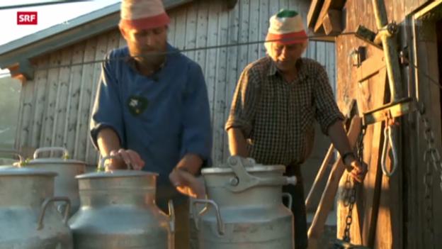Video «Hergers Heimat - die letzte Familie auf dem Urnerboden» abspielen