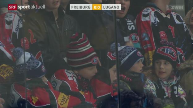 Video «Eishockey: Freiburg-Lugano» abspielen
