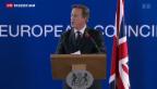 Video «Budget-Streit zwischen London und Brüssel entschärft» abspielen