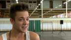 Video «Bühnen-Nachwuchs: Luca Hännis Feuertaufe auf der Musicalbühne» abspielen