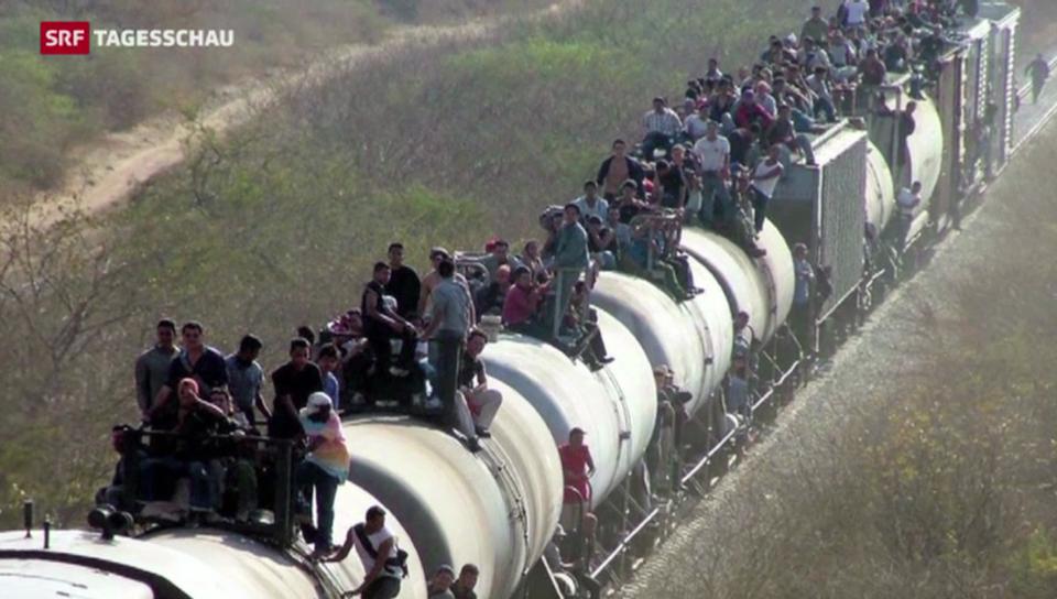 Menschliches Drama an der US-Grenze