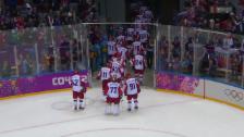 Video «Eishockey: Russland scheitert im Viertelfinal» abspielen