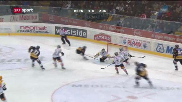 Video «SC Bern - EV Zug «sportaktuell»» abspielen